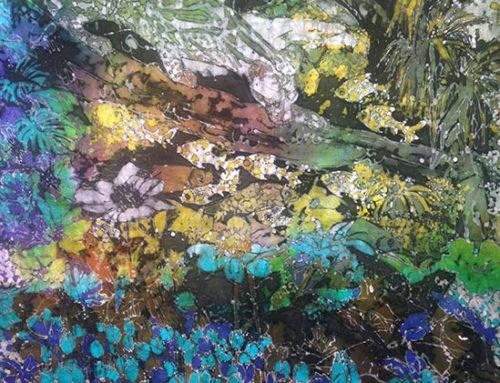 Batikkunst en keramiek in Galerie Kijk!Kunst…