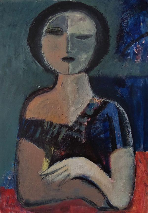 Blue women - Titia Galema