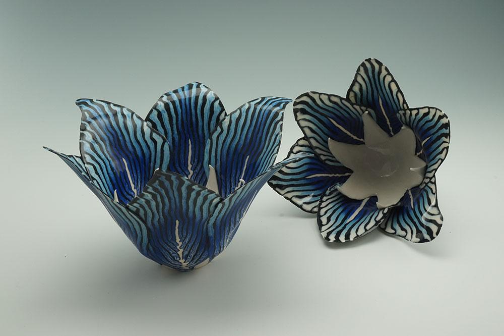 blauwe-lelie's