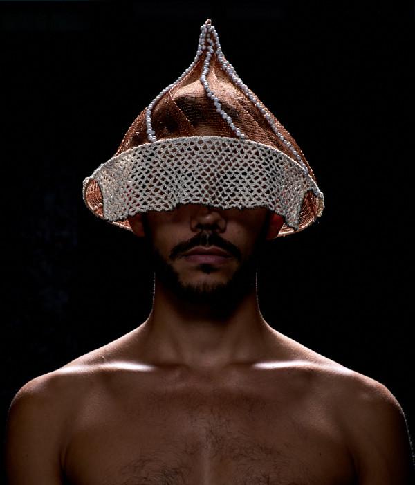 Marseille-Han hoed-gebreid koper met gehaakte zijde-2018