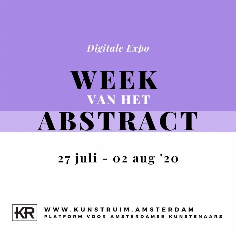 week van het abstract