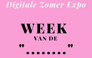 De week van