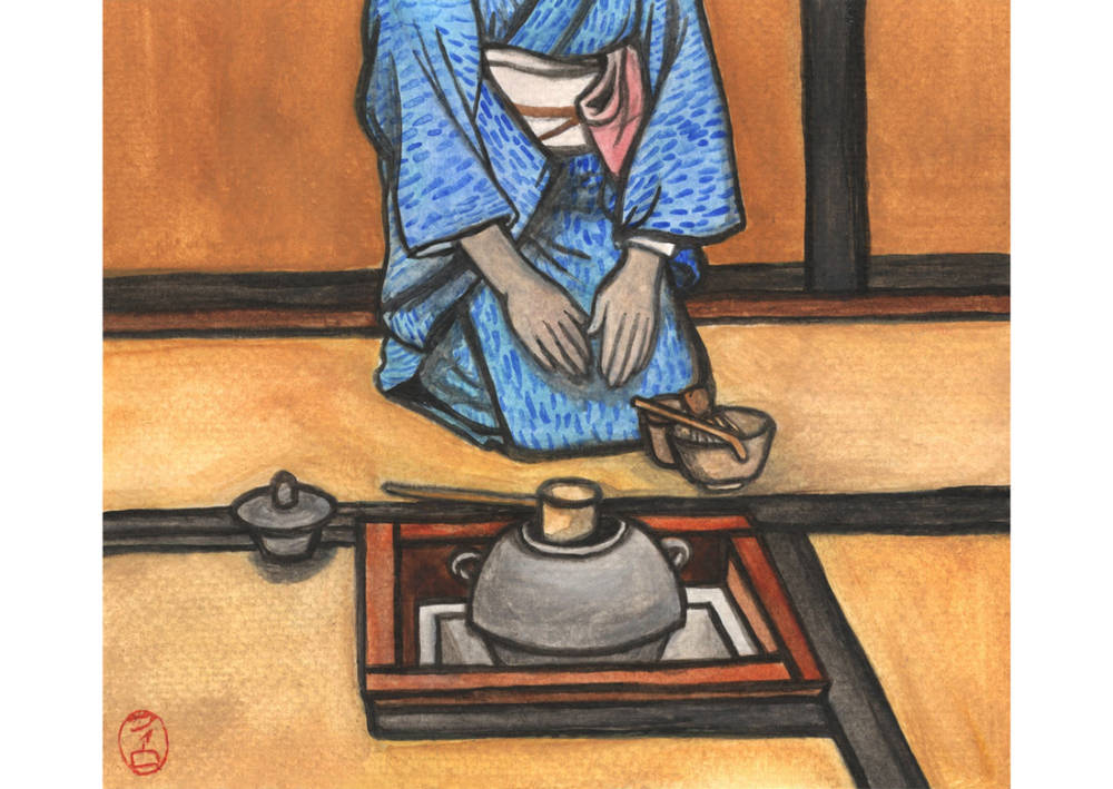 Ouweleen Portret van Fumiko Nabika