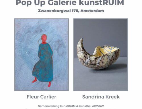 Kunsthal ABW&W en kunstRUIM openen Pop Up Galerie